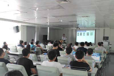 XIAN National Design Industrial Center-- The Analog IC Test Technology Seminar has been hold successfully