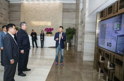 "The Party Secretary of Foshan, Lu yi, visited PowerTECH and launched ""Nuan Chun programme"" with his presence."
