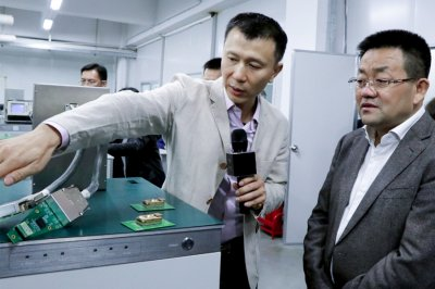 The district chief of Nanhai, Gu yaohui, visited PowerTECH and launched a high quality research